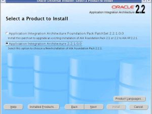 Installing AIA 2.2.1 on an Oracle SOA Suite Cluster