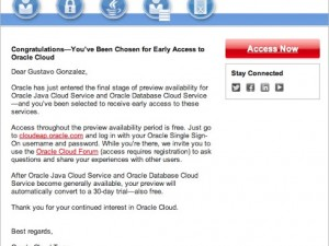 IT Convergence Becomes Oracle Public Cloud Tester