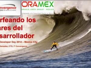 Oracle Developer Day 2014: México