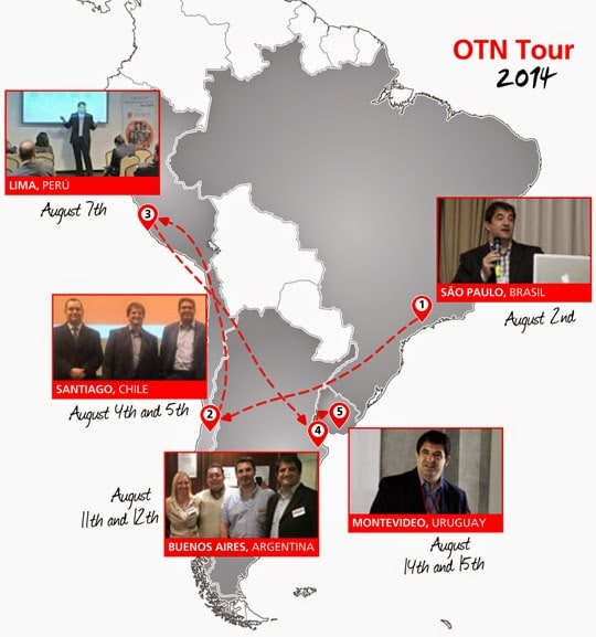 Oracle Technology Network Tour 2014 Roadmap