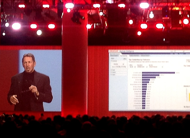 larry ellison oracle openworld oow oracle world oow14