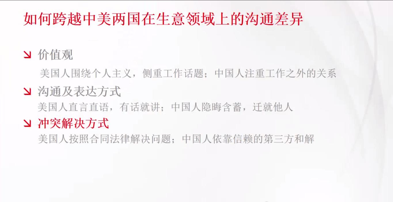 Close the China and US Communication Gap [Chinese]