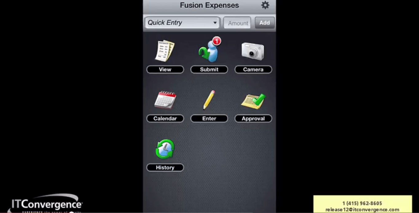 EBS 12.2.4 Fusion Expenses Mobile