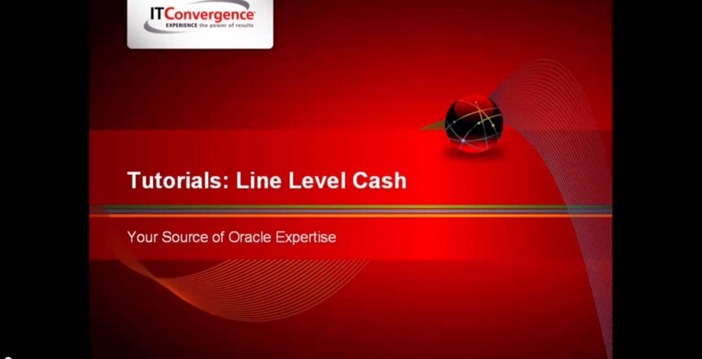 Line Level Cash Application