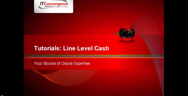 Line Level Cash Application