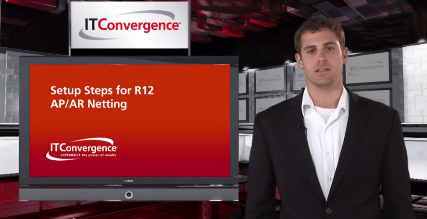 Setup Steps for Oracle R12 AP/AR Netting