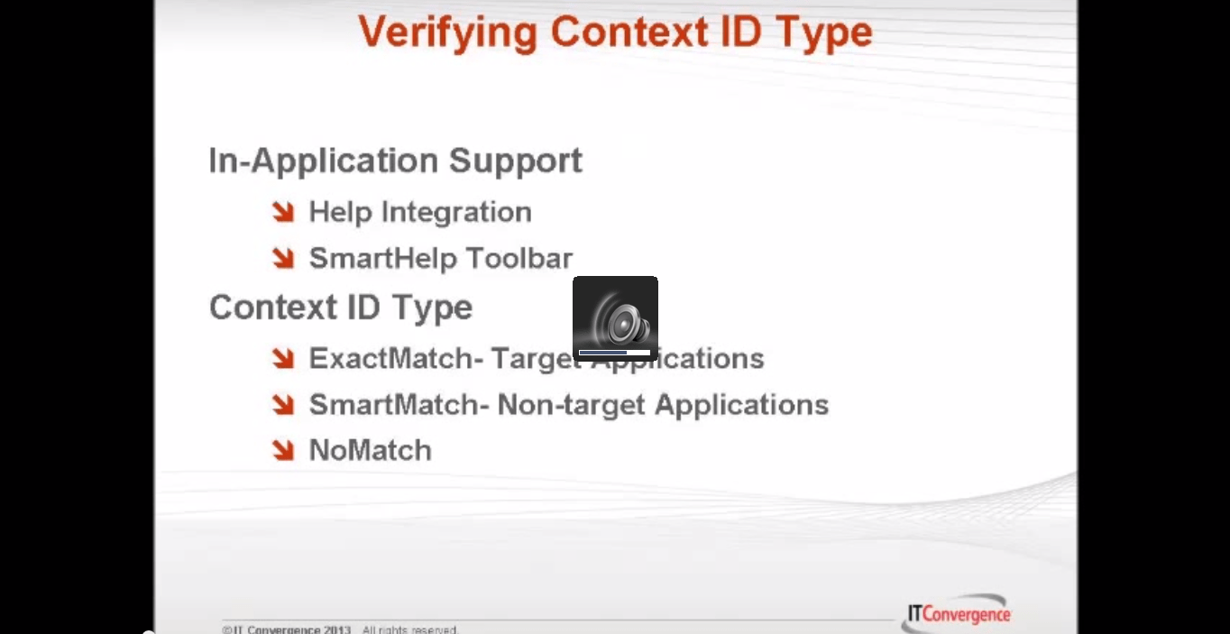 Verifying Context ID Type