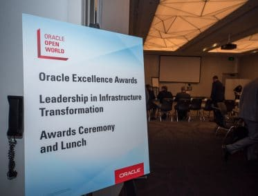 oracle Awards Sign