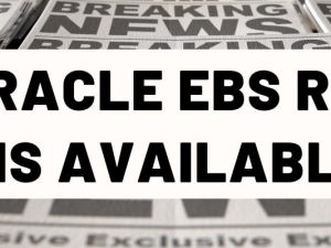 Oracle EBS R12.2.9 is now available!