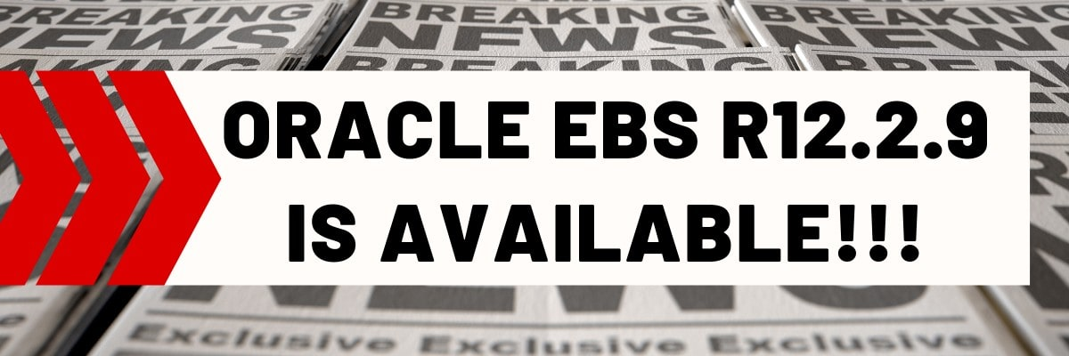 Oracle EBS R12 2 9 is now available! | IT Convergence Blog